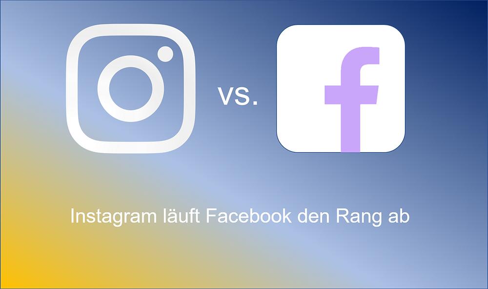 Instagram überholt Facebook
