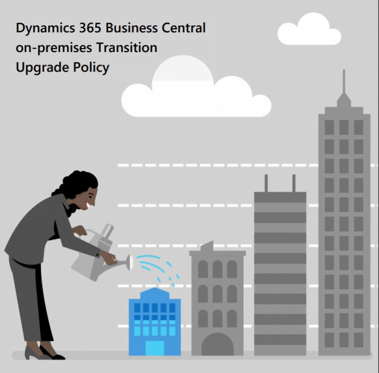Dynamics 365 Business Central on-premises Transition Upgrade Policy