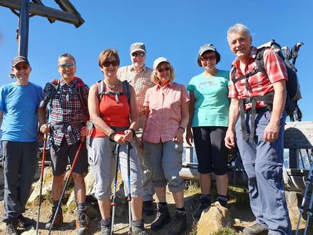 Bergwanderung von Flüelen nach Muotathal 21. – 22. September 2019