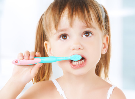 Tooth brushing Tips For Tots, From Your Family & Pediatric Dentist in Lewisville, Texas