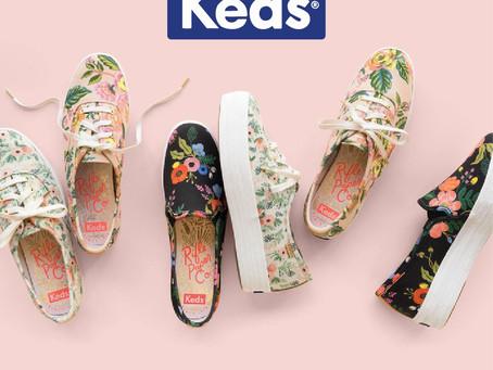 美國經典帆布鞋品牌Keds。最高二五折大拍賣