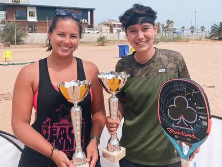Eva Fernandez Campeona en Melilla junto a Omayra Farias