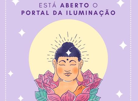 O Festival de Iluminação de Buda