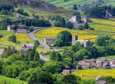 Yorkshire Dales in Lake District