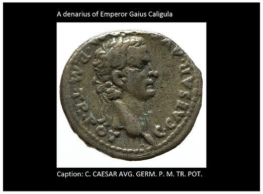 When Caligula Blasphemed The Name YA'OH He Paid The Price
