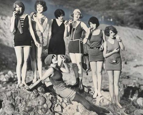 Swimwear in 1920