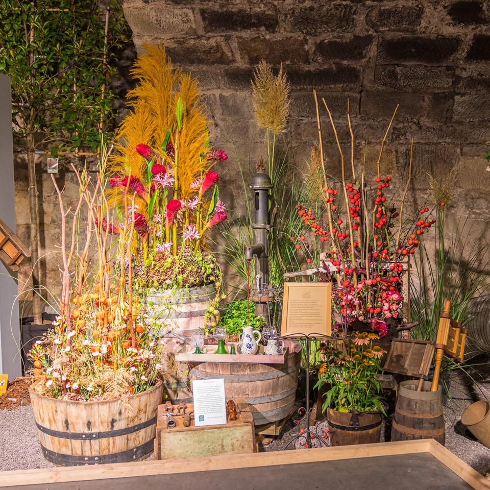 greiner schorndorf blumen wein winzer gartenschau florist