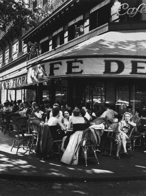 Traditional Parisian Cafe Culture which goes back to Centuries