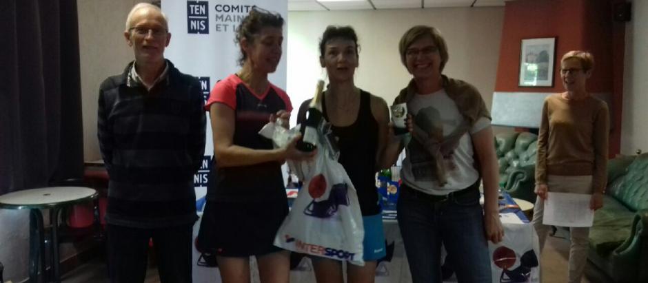 Céline et Sylvie remportent le championnat individuel !