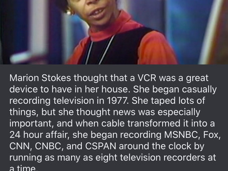 Marion Stokes-Recorded 40,000 VHS Tapes