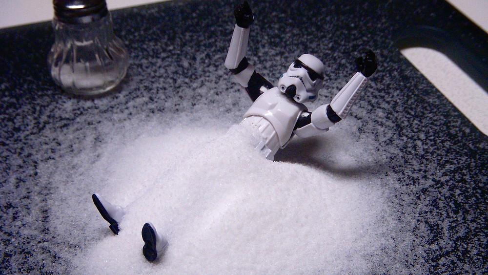Натрий является составляющей поваренной соли (NaCl)