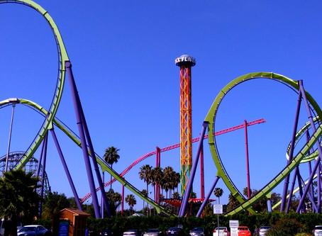Six Flags Discovery Kingdom (4/16)