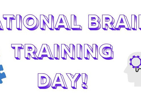 National Train Your Brain Day!