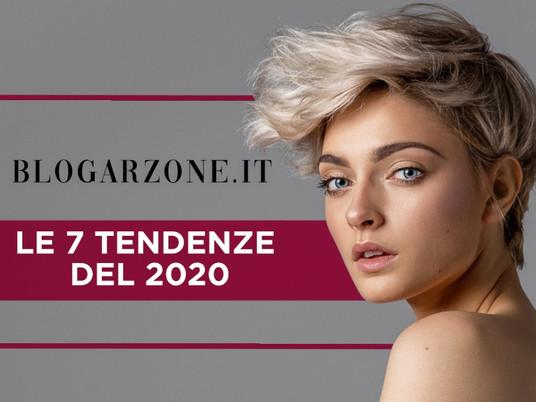 LE 7 TENDENZE DEL 2020