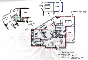Proposed Sketch for Tanglewood Ground Floor