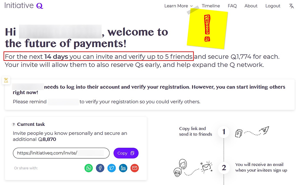 Initiative Q fraude