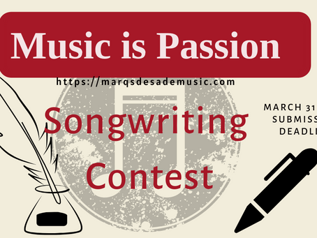 Songwriting Contest Winner!