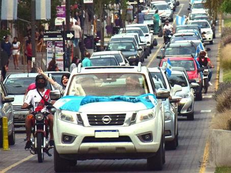 Caravana por el día de la militancia peronista