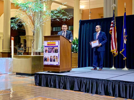 Chapter's President received the Latino Heritage Award 2019 St. Paul