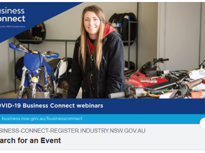 Free Business Connect workshops-webinars