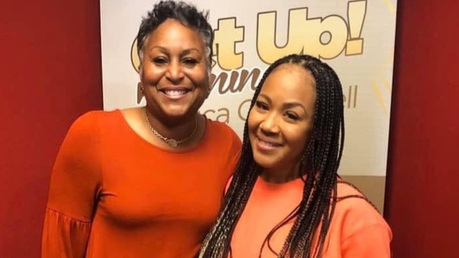 AWARD WINNING PRODUCER CHERYL POLOTE WILLIAMSON ON GET UP MORNINGS