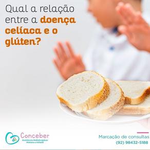 Qual a relação entre a doença celíaca e o glúten?