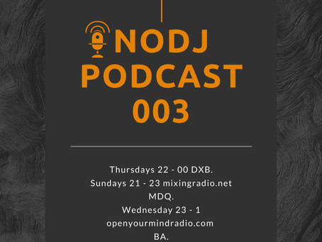 NODJ PODCAST E3 TOMMY OUTSIDE ITALY , ENGLISH INTERVIEW