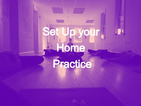 How to Set Up Your Home Yoga & Meditation Practice