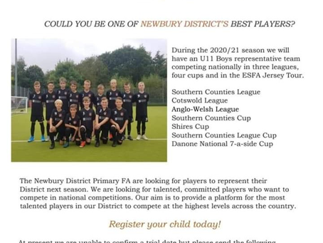 Newbury District Primary Schools' FA - District Trials