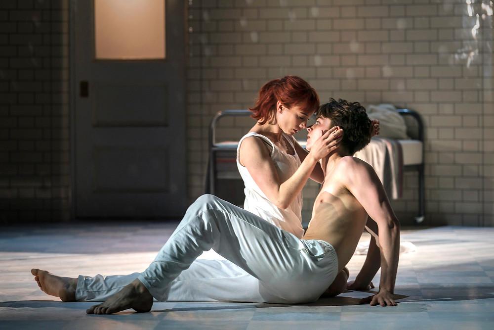 Cordelia Braithwaite and Paris Fitzpatrick in Matthew Bourne's Romeo and Juliet. All pics: Johan Persson