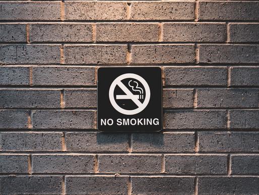 Smoking Ban Now in Effect