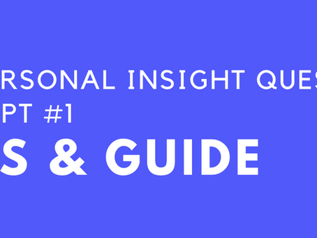 Tips and Guide on Writing Personal Insight Question Prompt #1