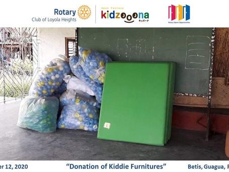 Donation of Kiddie Furnitures - Betis