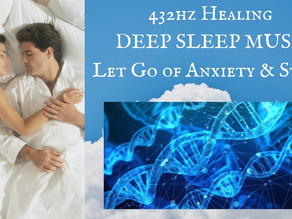 432 Hz Healing DEEP SLEEP ~ Let go of Anxiety & Stress ~ 21 days to Better Vibes and Inner Peace