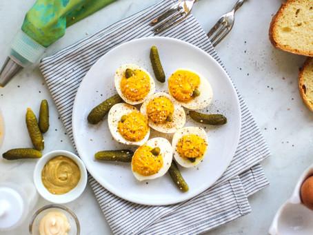 Uova alla diavola con la zucca: la ricetta facilissima