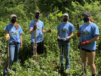 Small Crew, Big Year- 2020 Youth Conservation Corps Summer Accomplishments