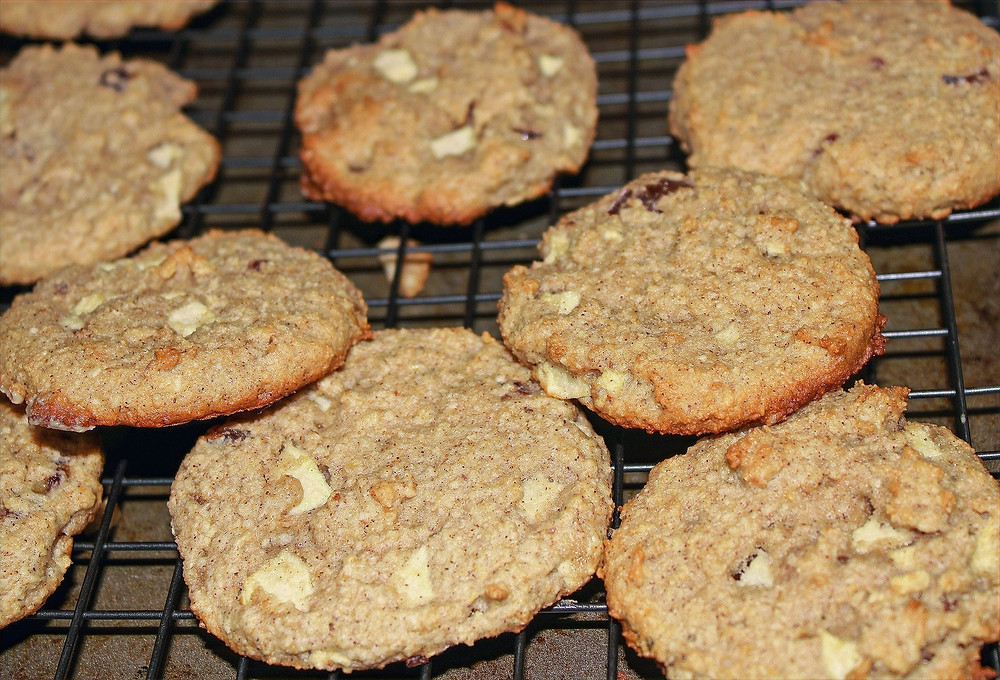 vegan apple cookies