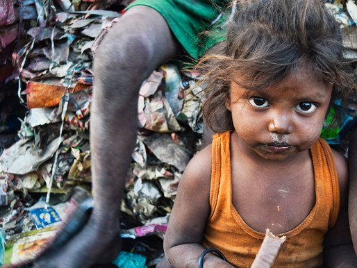 Poverty And Starving Children