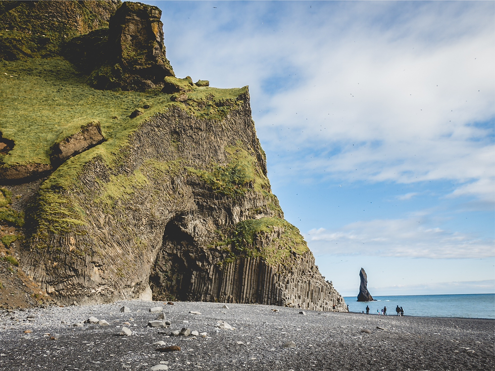 Black Sand Beach,Iceland