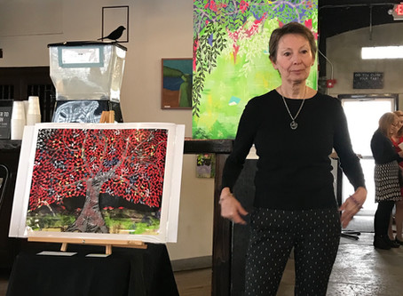 Lively Art Show at Short Path