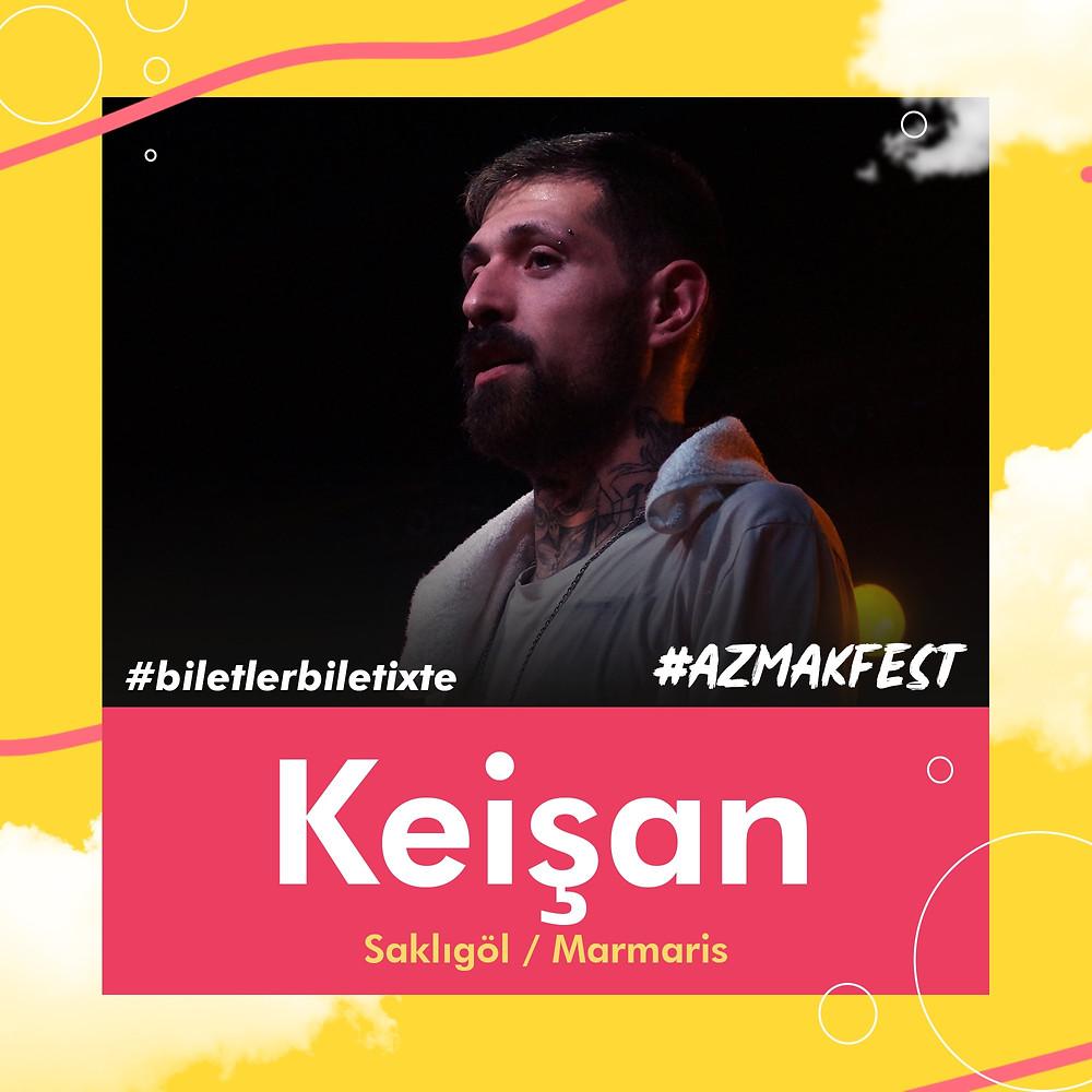 Trap müziğin önde gelen ismi @ArananAdamm#AzmakFest'te seni bekliyor.