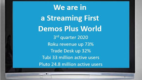 We are in a streaming first demos plus world