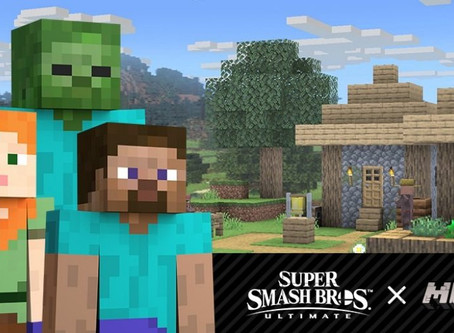 MINECRAFT JOINS SUPER SMASH BROS. ULTIMATE