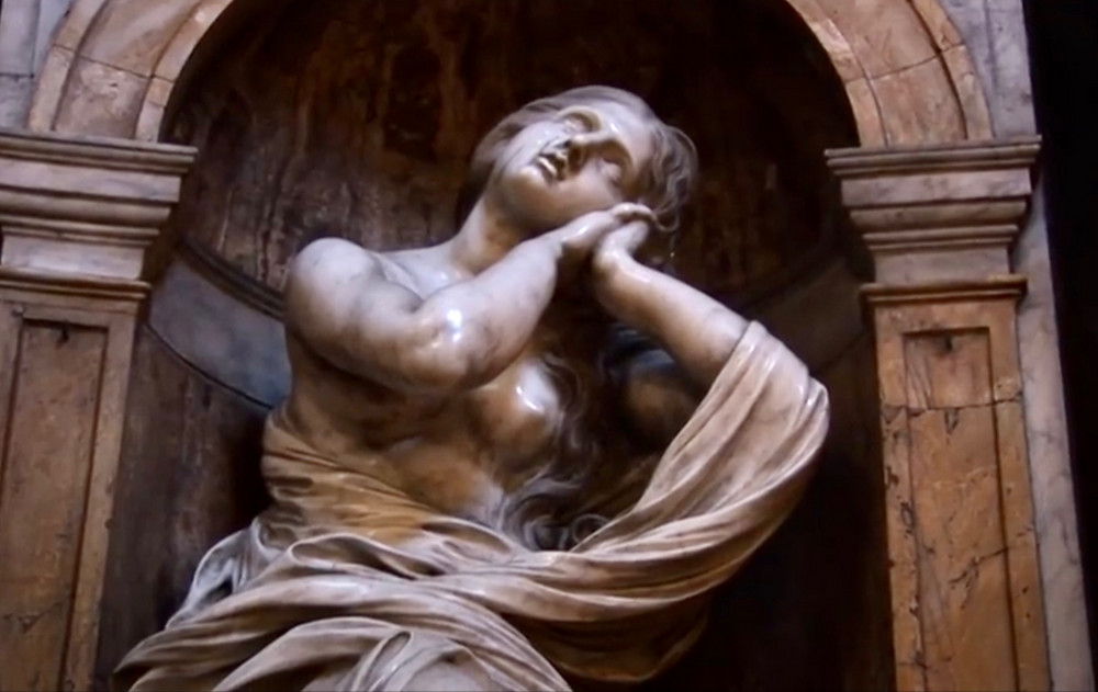 Bernini, St. Mary Magdalene in Mystical Ecstacy, 1661-63