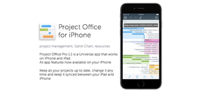 Project Office Pro 1.1 is a Universal app that works on iPhone and iPad.