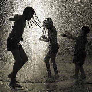Celebrating God's rain!
