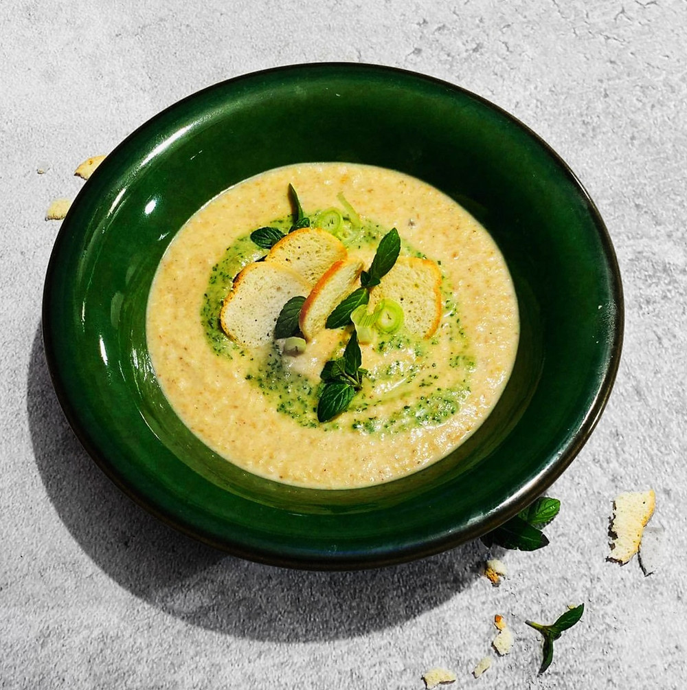 grybų sriuba, Alfas vienas namuose, receptai, tiršta sriuba