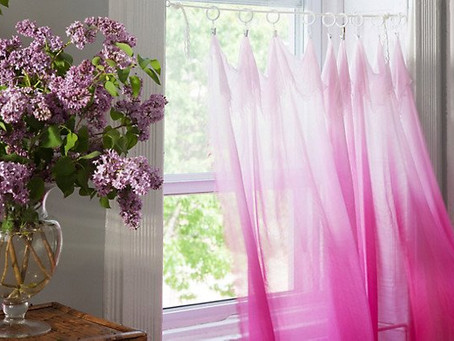 Time to change the curtains?