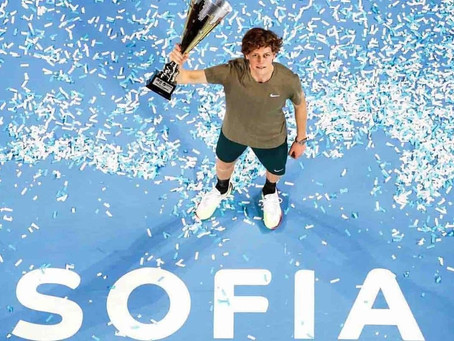 sinner (ita) wins 1st title at sofia