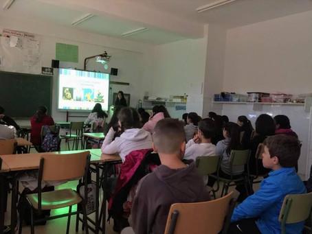 Campaña de Sensibilización  Escolar 2018/19 sobre Discapacidad Física y Orgánica organizada